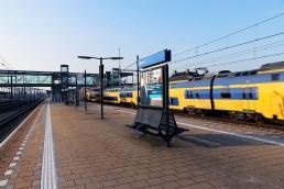 Bram en de vlam Reclamebureau Eindhoven, banner station grafisch ontwerp
