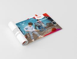 Bram&deVlam reclamebureau Eindhoven Brochure PlatOOlab grafisch ontwerp