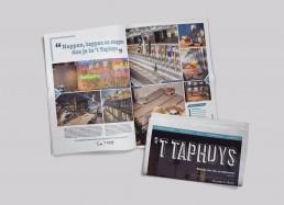 bramendevlam-reclamebureau-eindhoven-Taphuys-Krant-Spread1