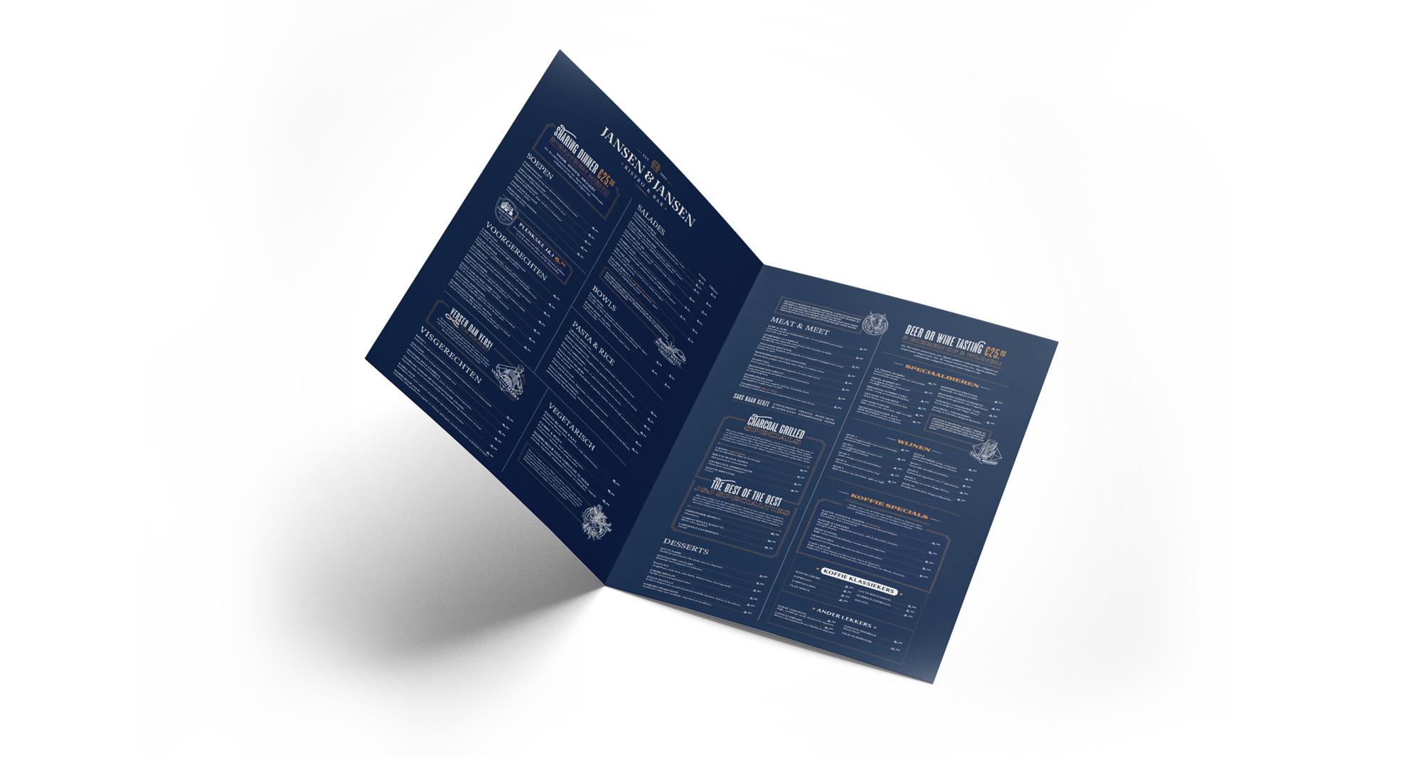 menukaart binnenkant