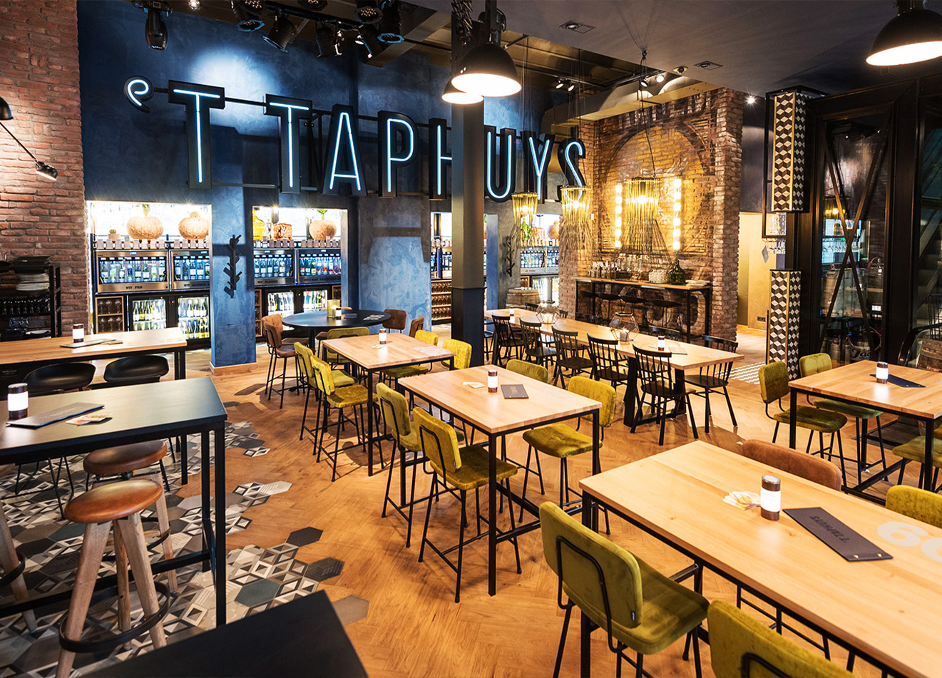 Interieur Taphuys