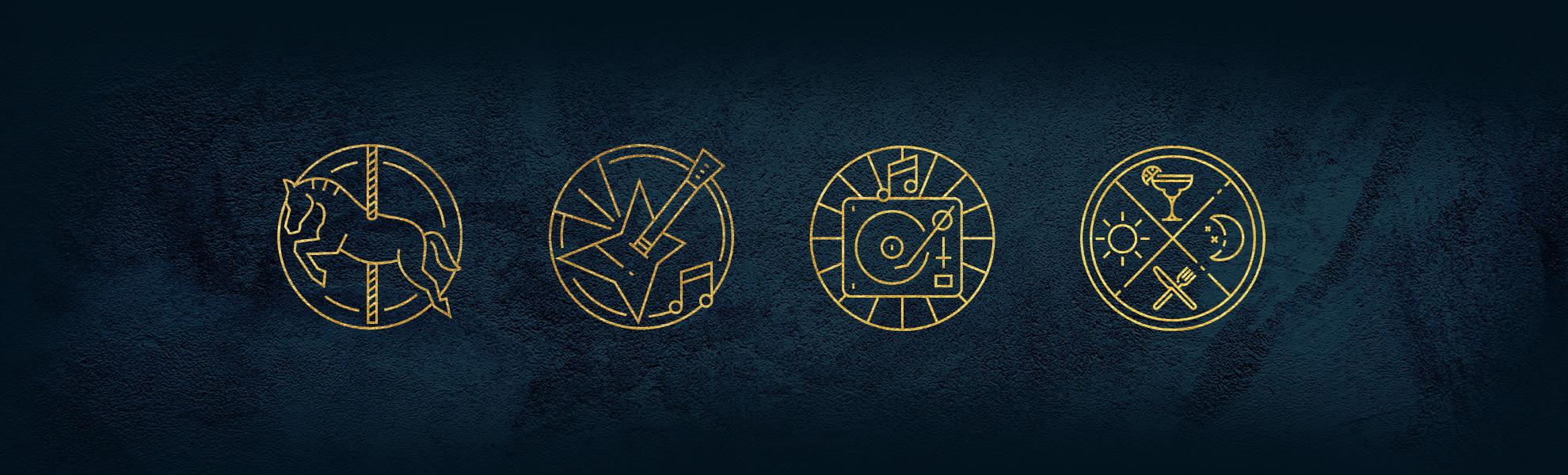 Stadsoase icons