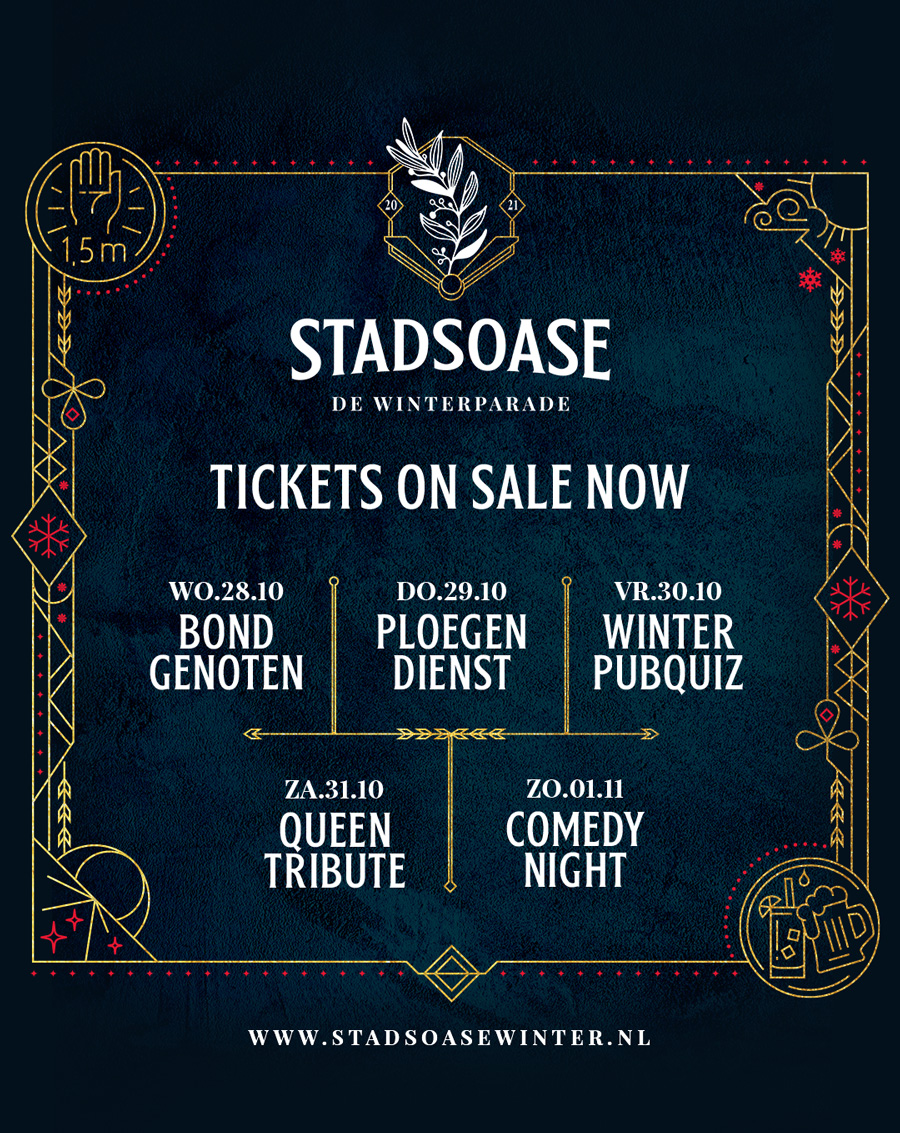 Stadsoase poster